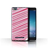 Stuff4 Phone Case for Xiaomi Mi 4C Red Fashion Heart
