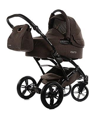 Knorr-baby 3312–Carrito 2Voletto Set marrón