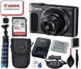 "Canon PowerShot SX620 HS Digital Camera (Black) with Bundle Package Deal –SanDisk 32gb SD Card + Camera Case + 12"" Gripster Tripod and More"