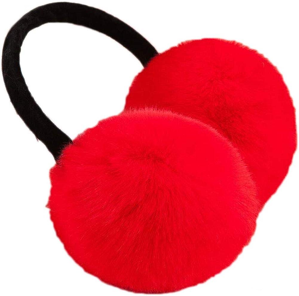 Cute Animal Soft Earmuffs Winter Warm Outdoor Ear Covers Headband Fur Ear warmer,#16