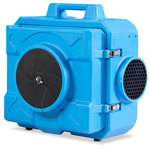 COSTWAY Industrial Commercial Air Scrubber, Heavy Duty Air Purifier, Air Machine for Water Damage...