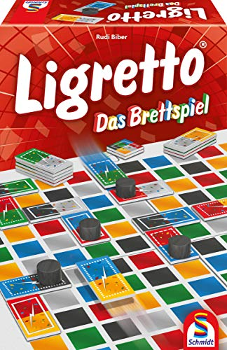 Schmidt Spiele 49386 Ligretto-Das Brettspiel, Familienspiel