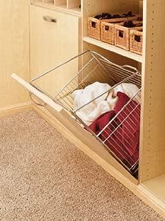 Rev-A-Shelf Closet Tilt Basket (Chrome) Hampers,