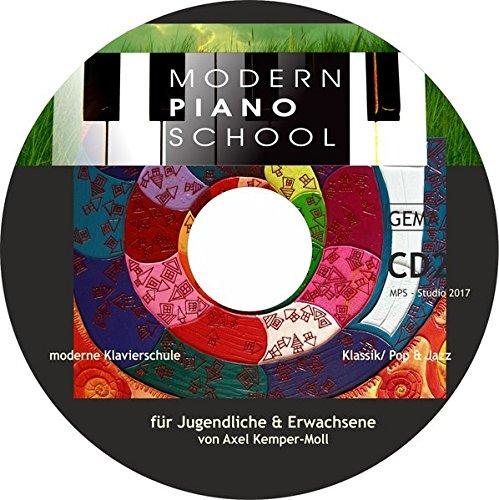 Modern Piano School II: mit Hörbeispielen, Lehrerstimmen & Playalongs zum Buch