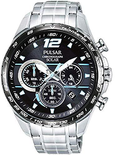 【セット商品】[パルサー] セイコー SEIKO パルサー PULSAR ソーラークロノグラフ腕時計 WRCモデル PZ5031X1 &マイクロファイバークロス 13×13cm付き[並行輸入品]