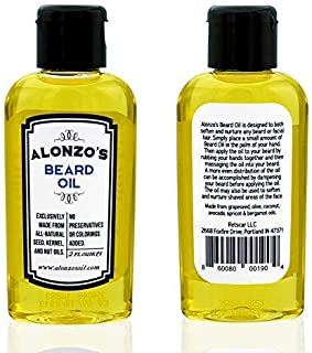 beard oil scented