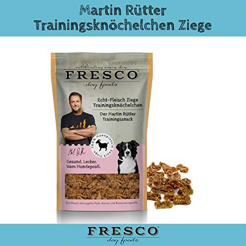 Fresco Dog Martin Rütter Trainingsknöchelchen Ziege 150g
