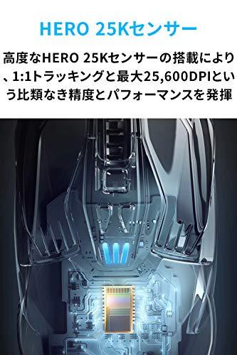 LogicoolGロジクールGゲーミングマウスワイヤレスG903hHERO25KセンサーLIGHTSPEED無線多ボタンLIGHTSYNCRGBPOWERPLAYワイヤレス充電最長180時間バッテリー国内正規品