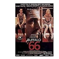 映画バッファロー66ポスターとプリント壁アートプリントリビングルームの家の寝室の装飾的なカフェ-20X28インチx1フレームレス