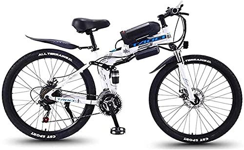 Bicicleta electrica Bicicletas eléctricas rápidas para adultos Bicicleta eléctrica plegable de montaña,...