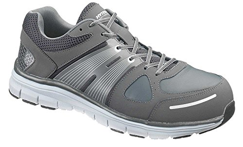 Hytest Men's Athletic Steel Toe EH (12.0 M, Grey)