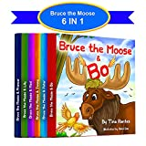 Bruce The Moose - 6 IN 1: Children's picture books about Kindness, and Friendship (Children Books, for kids ages 3 5.) (English Edition)