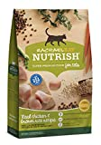 Rachael Ray Nutrish Premium Natural Dry Cat Food, Real Chicken & Brown Rice Recipe, 14 Pounds