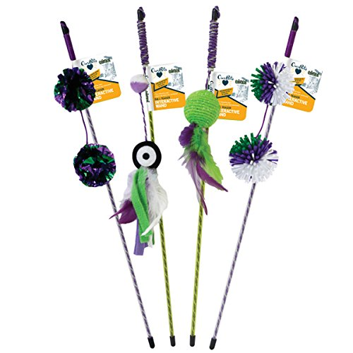 Ourpets Go Cat Go Wand Assortiment Lot Inrteractive Jouet pour Chat