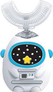 Elektryczna szczoteczka do zębów dla dzieci 360 ° Czyszczenie IPX7 Wodoodporna silikonowa główka szczoteczki do żywności Ś...