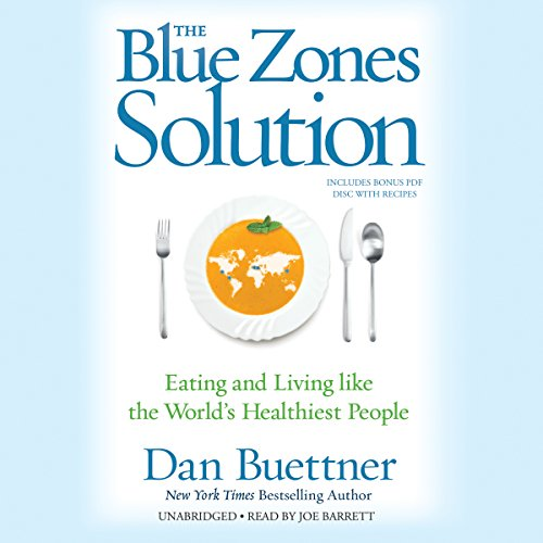 The Blue Zones Solution audiobook cover art