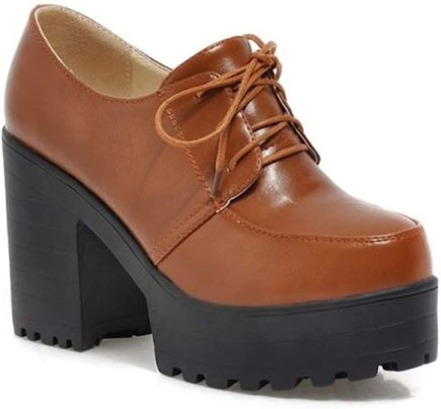 FUN.S Womens Comfortable Low Chunky Heel Booties Closed Toe Buckle Ankle Boots