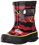 Bogs Skipper Kids Waterproof Rubber Rain Boot for...