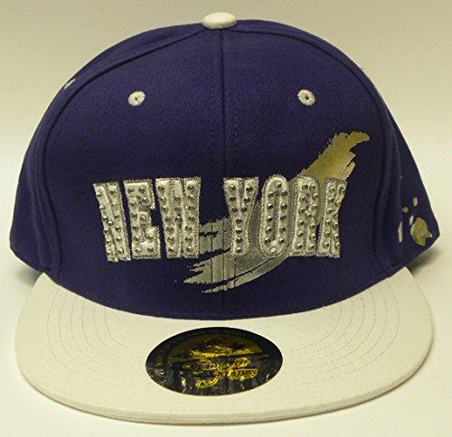 """Nouveaux temps est de l'argent Casquette de baseball """"New York"""" Logo à l'avant Hip Hop Casquette Chapeau - - Taille Unique"""