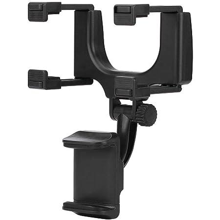 Auto Handyhalter Rückspiegelhalter Universal Ständer Für Gps Smartphone 360 Drehung Rückspiegelhalterung Für Handyhalterung Handyhalter Für Handy Autohalterung Kfz Lüftung Halter Handy Halterung Auto