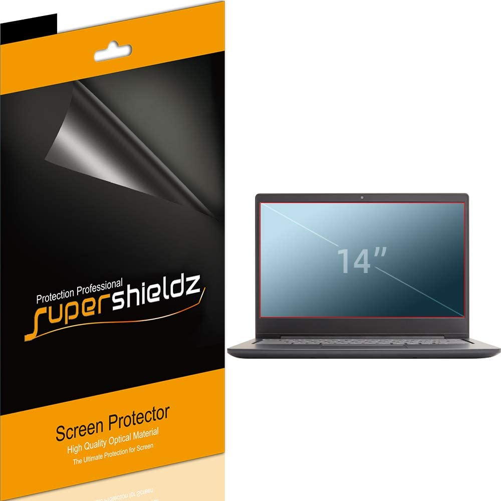 (3 Pack) Supershieldz Designed for HP Pavilion 14, HP ChromeBook 14, HP Stream 14, Acer Chromebook 14, Acer Aspire 14, Acer Chromebook 314/514, Asus Chromebook C425 and Asus VivoBook 14 (14 inch) Screen Protector, High Definition Clear Shield (PET)