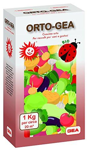 GEA ORTO Concime Biologico per orti - Orto Bio, Raccolti più sani e gustosi