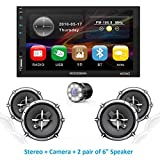 Woodman Wow2 MP5 Touch Screen Car Music System Car Stereo (Car Double Din)