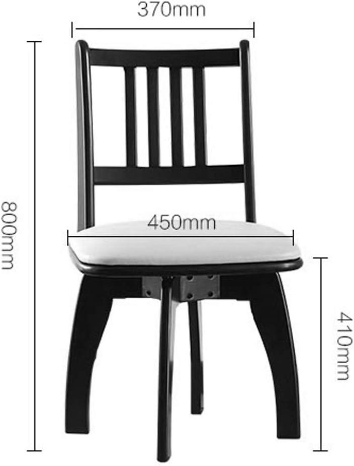 Président WGZ- Chaise de Salle, Chaise de Bureau Simple, créative Dossier, Chaise Loisirs, Maison Adulte Chaise de Salle Simple (Color : B) B