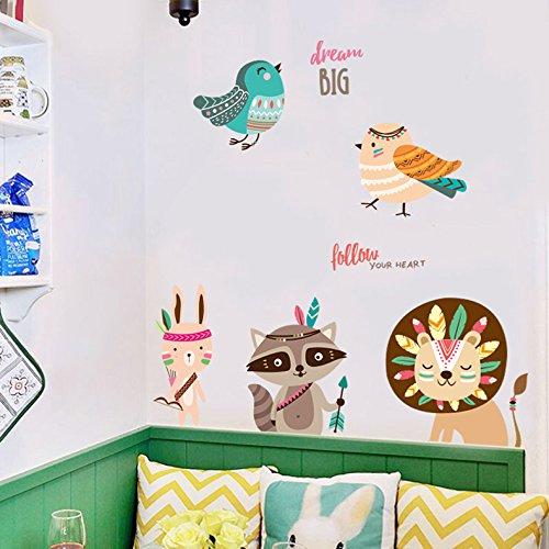 HCCY Cartoon Kinderen slaapvertrekken tegen de baby kamer wandkamers zijn elegant ingericht in een kast tegen de muur posters 170 * 70cm