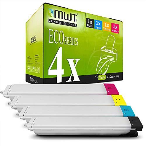 4X MWT Druckerpatronen für Samsung C9201N C9301 CLX9301 CLX9301N CLX9201NA C9251 C9201 CLX9251N CLX9301NA C9301NA C9201NA ersetzt CLT-809 CLT809 Set