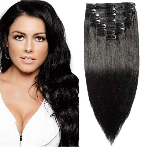 Extensiones de cabello natural moreno Sego