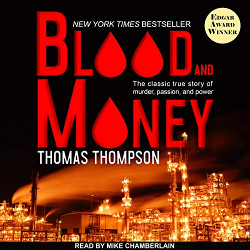 Blood and Money audiobook cover art