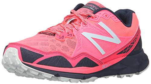 New Balance Women's 910v3 Trail Running Shoe, Pink/Grey, 5 D US