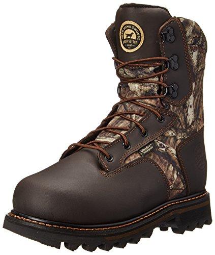 """Irish Setter Men's 2813 Gunflint II 10"""" Hunting Boot,Mossy Oak Break Up Infinity Camouflage,10 D US"""