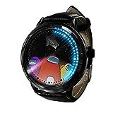 Among Us Reloj Reloj LED Pantalla táctil a Prueba de Agua Luz Digital Reloj Reloj de Pulsera Unisex Cosplay Regalo Nuevos Relojes de Pulsera Regalo para niños-A012