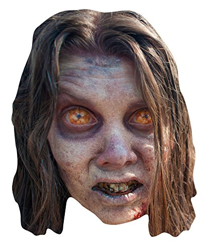 STAR CUTOUTS - Stsm157 - Masque pour Adulte Bug Eyed Zombie - The Walking - Taille Unique