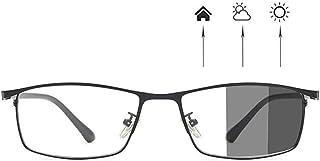Photochromic Zonnebril, Computer Blue Light Blocking Glasses Mannen Vrouwen Verminder Vermoeide Ogen Outdoor Anti Glare Fi...