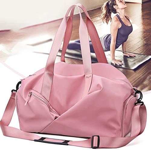 Wakauto 1PC Tote Bag Multifunctional Durable Casual Portable Travel Handbag Training Bag Yoga Package Gym Bags Shoulder Bag for Women Travel
