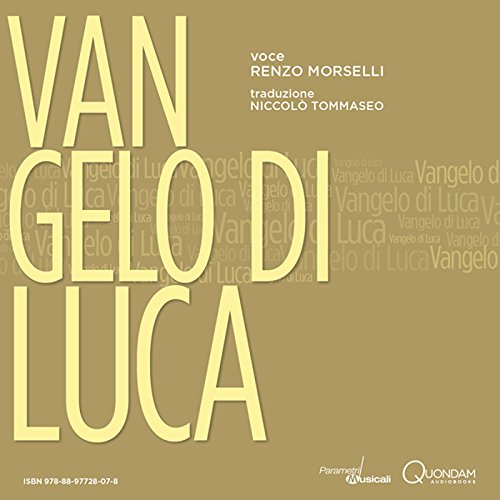 Vangelo di Luca [St. Luke's Gospel] audiobook cover art