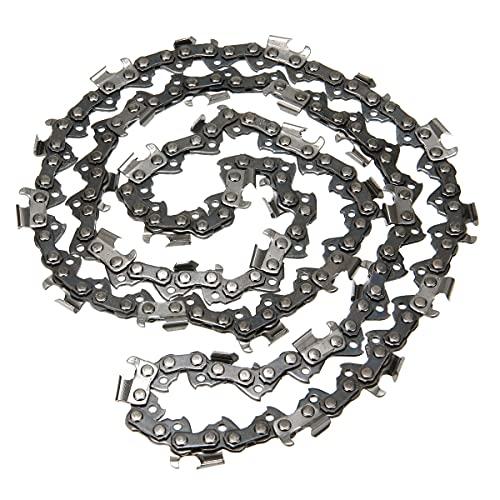 JXHYKJ 2pcs 18 pulgadas de motosierra de cadena de cadena de cadena Pitch .325'0.058 Gauge 7 2DL Reemplazo Herramientas de hardware Cadenas