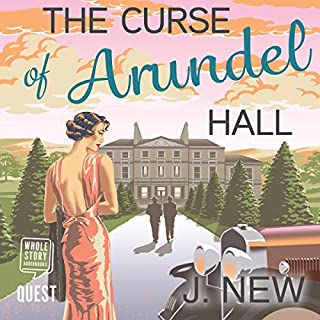 The Curse of Arundel Hall audiobook cover art