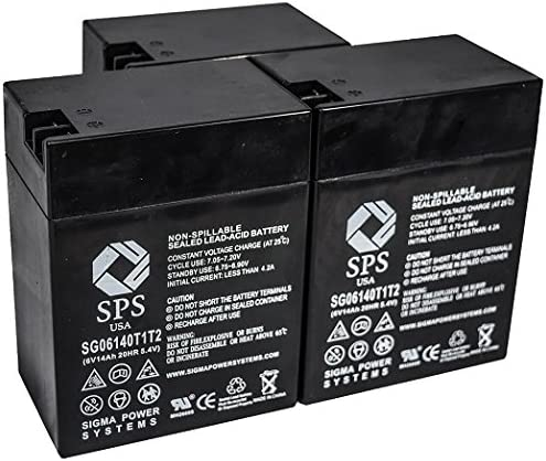 SPS Brand 6V 14 Ah Terminal Sales Replacement Battery for Dedication Sonnens T1T2