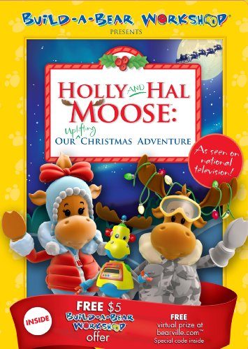 Build A Bear Presents: Holly & Hal Moose: Our Uplifting Christmas Adventure