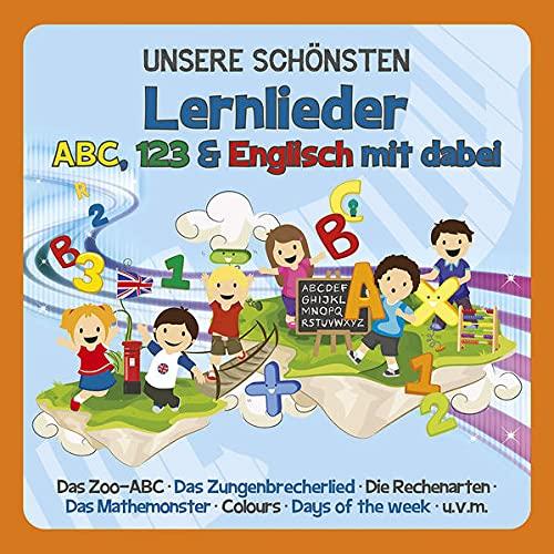 Unsere Schönsten Lernlieder-ABC,123,Englisch