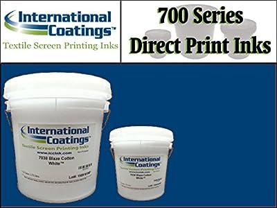 International Coatings Ink - 700 Series Direct Print Plastisol Ink for Screen Printing - Royal Blue