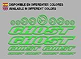 Ecoshirt 0B-E0CY-599T Aufkleber Ghost F188 Vinyl Adesivi Decal Aufkleberbögen ungemahr MTB Stickers...