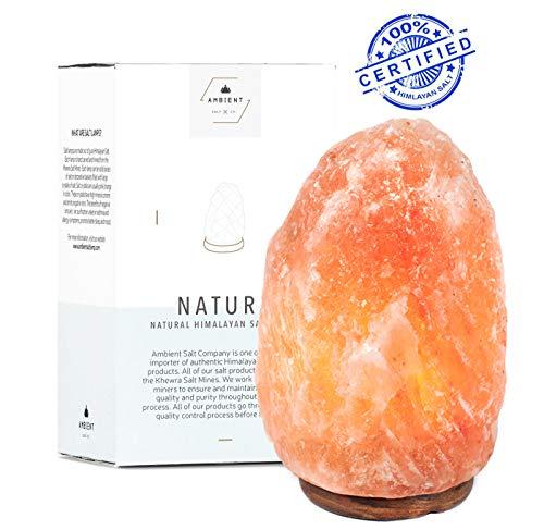 Himalayan Salt Lamp Premium Natural Hand Carved Glow Crystal Rock Salt Light (7-9 lbs')