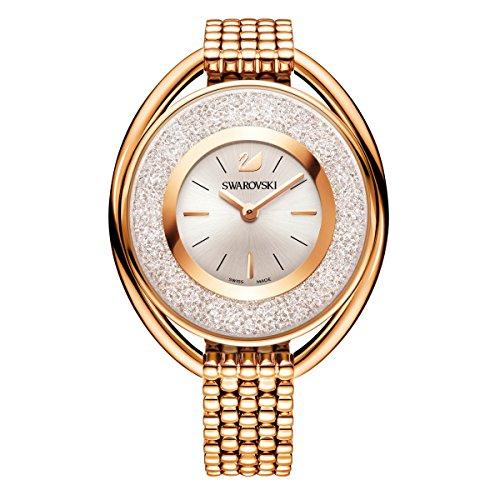 Swarovski Crystalline Oval Rose Gold Tone Armband
