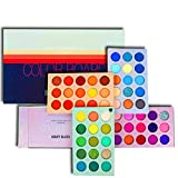Eyeshadow Palette 60 Colors Mattes and Shimmers High Pigmented Color Board Palette Long Lasting Makeup Palette Blendable Professional Eye Shadow Make Up Eye Cosmetic