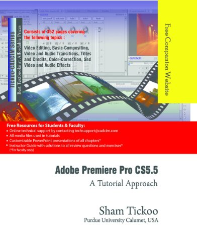 Adobe Premiere Pro CS5.5: A Tutorial Approach (English Edition)